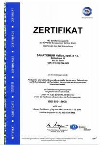 TÜV SÜD Zertifikat